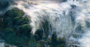 Фенг  Линзханг. Flying Clouds And Waterfalls