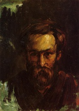 Поль  Сезан. Portrait of a Man