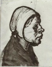 Винсент  ван Гог. Peasant Woman, Head