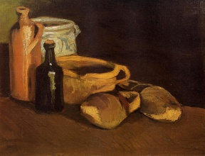 Винсент  ван Гог. Still Life with Clogs and Pots