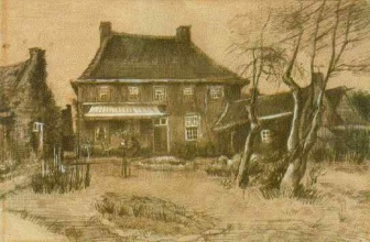 Винсент  ван Гог. Vicarage at Nuenen