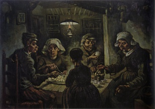 Винсент  ван Гог. The Potato Eaters