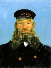 Винсент  ван Гог. Portrait of Postman Roulin