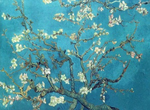 Винсент  ван Гог. Branches with Almond Blossom