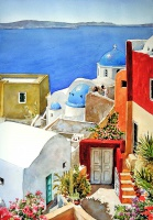 Пантелис  Зографос  Colors of Oia