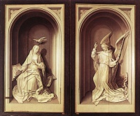 Хуго  ван дер Гус  The Portinari Triptych (Close)