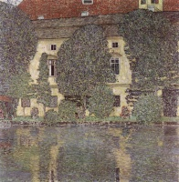Густав  Климт  The Schloss Kammer on the Attersee, III