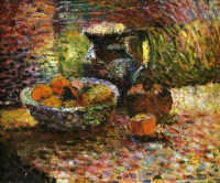 Анри  Матисс  Still Life with Pitcher and Fruit