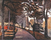 Анри  Матисс  The path in the Bois de Boulogne