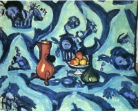 Анри  Матисс  Still Life with Blue Tablecloth