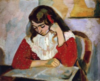 Анри  Матисс  The Reader, Marguerite Matisse