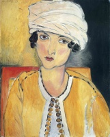 Анри  Матисс  Lorette with Turban and Yellow Vest