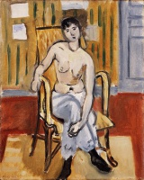 Анри  Матисс  Seated Figure, Tan Room