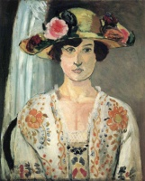 Анри  Матисс  Woman in a Hat
