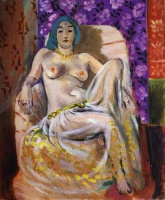Анри  Матисс  Seated Odalisque
