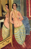 Анри  Матисс  Standing Odalisque Reflected in a Mirror