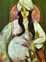 Анри  Матисс  Laurette in a White Turban
