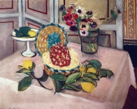 Анри  Матисс  Still Life with Pineapples