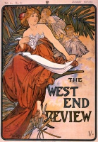 Альфонс   Муха  The west end review