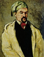 Поль  Сезан  Portrait of a Man in a Blue Cap, or Uncle Dominique