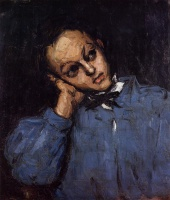 Поль  Сезан  Portrait of a Young Man