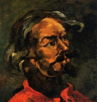 Поль  Сезан  Portrait of Achille Emperaire