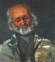 Поль  Сезан  Portrait of an old man