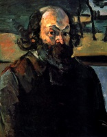 Поль  Сезан  Self-portrait
