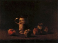 Винсент  ван Гог  Still Life with Beer Mug and Fruit