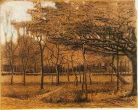 Винсент  ван Гог  Landscape with Trees