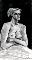 Винсент  ван Гог  Nude Woman, Half-Length