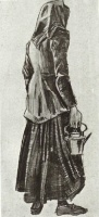 Винсент  ван Гог  Woman with Kettle, Seen from the Back