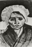 Винсент  ван Гог  Peasant Woman, Head