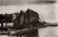Винсент  ван Гог  Watermill at Gennep