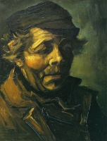 Винсент  ван Гог  Head of a Peasant (Study for the Potato Eaters)