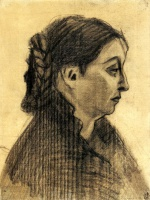 Винсент  ван Гог  Head of a Woman