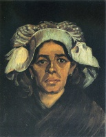 Винсент  ван Гог  Peasant Woman, Portrait of Gordina de Groot