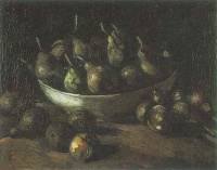 Винсент  ван Гог  Still life with an Earthern bowl and pears