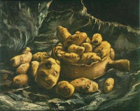 Винсент  ван Гог  Still life with an Earthern bowl and potatoes