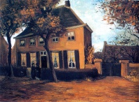 Винсент  ван Гог  The Vicarage at Nuenen