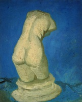 Винсент  ван Гог  Plaster Statuette of a Female Torso