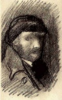 Винсент  ван Гог  Self-Portrait with Cap