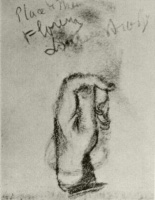 Винсент  ван Гог  Sketch of a Left Hand