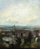 Винсент  ван Гог  View of Paris from near Montmartre