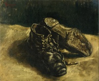 Винсент  ван Гог  A Pair of Shoes