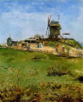 Винсент  ван Гог  Le Moulin de la Gallette