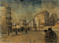 Винсент  ван Гог  The Boulevard de Clichy