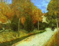 Винсент  ван Гог  Path in the Park at Arles