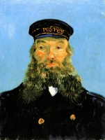 Винсент  ван Гог  Portrait of Postman Roulin