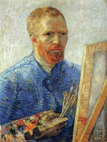 Винсент  ван Гог  Self Portrait as an Artist